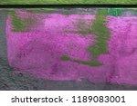 beautiful street art graffiti....   Shutterstock . vector #1189083001