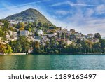 scenic view of mountain... | Shutterstock . vector #1189163497