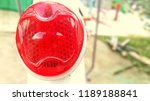 red bicycle bumper.blur | Shutterstock . vector #1189188841