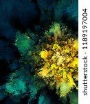 modern art. colorful... | Shutterstock . vector #1189197004