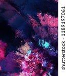 modern art. colorful... | Shutterstock . vector #1189197061