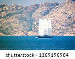 a beautiful and luxury sailboat ...   Shutterstock . vector #1189198984