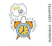 cartoon doodle handdrawn vector ... | Shutterstock .eps vector #1189199791