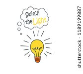 cartoon doodle handdrawn vector ... | Shutterstock .eps vector #1189199887