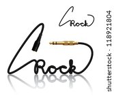 Vector Jack Connectors Rock...
