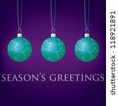 bright purple season's... | Shutterstock .eps vector #118921891
