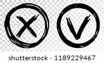 tick cross vector check marks...
