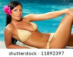 20 25 years woman portrait...   Shutterstock . vector #11892397