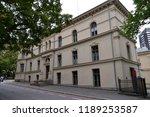 slottsplassen and slottsparken  ... | Shutterstock . vector #1189253587