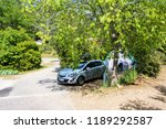 campground in france | Shutterstock . vector #1189292587