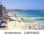 Bird's View Of Tel Aviv Beaches ...