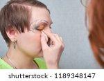 professional visage artist...   Shutterstock . vector #1189348147