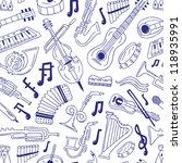 music concert   seamless... | Shutterstock .eps vector #118935991