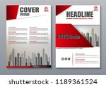 cover book presentation... | Shutterstock .eps vector #1189361524