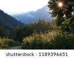 stony road in the mountains | Shutterstock . vector #1189396651