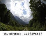 stony road in the mountains | Shutterstock . vector #1189396657