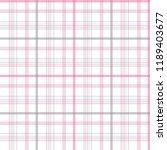 plaid pattern vector eps | Shutterstock .eps vector #1189403677