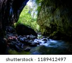 river in a wild gorge. cheile... | Shutterstock . vector #1189412497