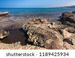stony mediterranean coast in... | Shutterstock . vector #1189425934