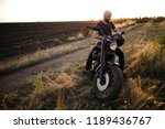 bold man with the black helmet... | Shutterstock . vector #1189436767