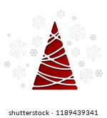 vector illustration christmas... | Shutterstock .eps vector #1189439341