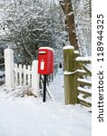 The Post Box In The Snow