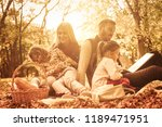 fairytale in nature.  happy... | Shutterstock . vector #1189471951