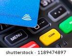 contactless payment   nfc... | Shutterstock . vector #1189474897