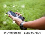 innovation technology for smart ... | Shutterstock . vector #1189507807