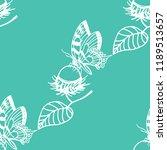 rambutan  butterfly tropical... | Shutterstock .eps vector #1189513657