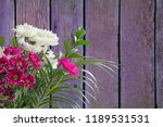 bouquet of flowers with space... | Shutterstock . vector #1189531531