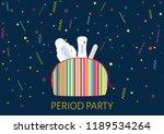 vector illustration of girls... | Shutterstock .eps vector #1189534264