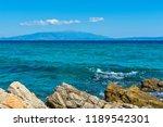 panoramic view of aegean sea at ...   Shutterstock . vector #1189542301