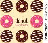 donuts vector illustration | Shutterstock .eps vector #1189544977