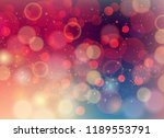 vector soft colored abstract... | Shutterstock .eps vector #1189553791