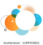 colorful geometric background.... | Shutterstock .eps vector #1189553821