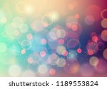 vector soft blurred colored... | Shutterstock .eps vector #1189553824