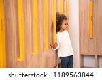 adorable african american kid... | Shutterstock . vector #1189563844