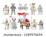 knight vector medieval... | Shutterstock .eps vector #1189570654