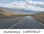 snow mountain power tower | Shutterstock . vector #1189578127