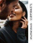 love story in new york. man...   Shutterstock . vector #1189586371