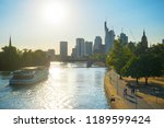financial district  cruise boat ... | Shutterstock . vector #1189599424