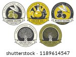 vector set of labels or... | Shutterstock .eps vector #1189614547