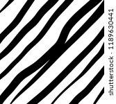 hand drawn black grunge... | Shutterstock .eps vector #1189630441
