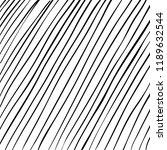 hand drawn black grunge... | Shutterstock .eps vector #1189632544