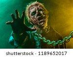 close up portrait of a horrible ... | Shutterstock . vector #1189652017