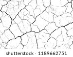 white dried and cracked ground... | Shutterstock . vector #1189662751