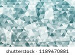 geometric rumpled triangular... | Shutterstock .eps vector #1189670881