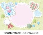 baby card | Shutterstock .eps vector #118968811