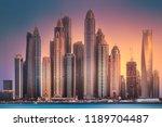 Modern Buildings Of Dubai...
